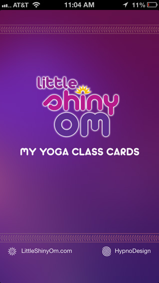 Yoga App Help Screens