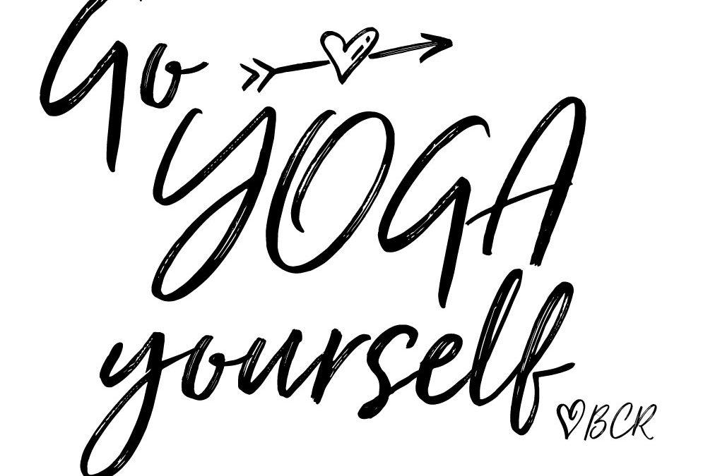 Go Yoga Fundraising Tshirt
